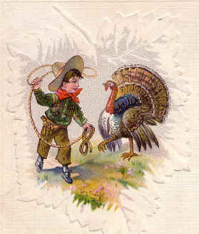 First Thanksgiving was in Texas
