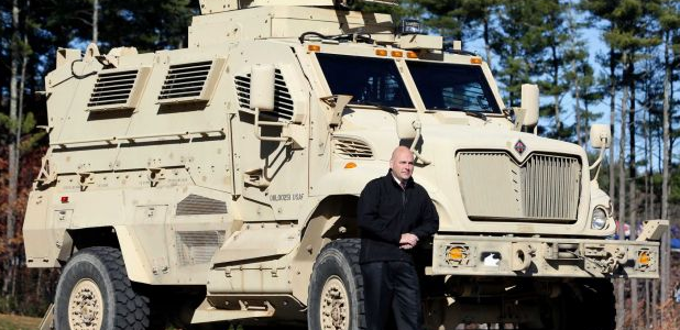 Random Thoughts About MRAPs and Naked Ex-Cops