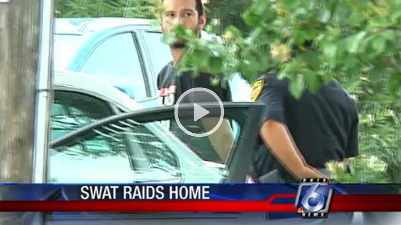 Sons Arrested, Mother Feels Faint During Drug Raid