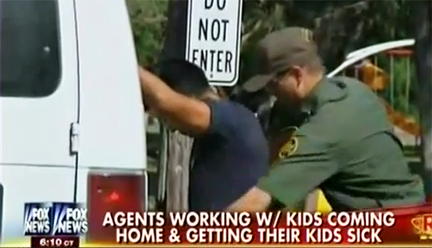 [Watch] Border Agents and Their Families Becoming Sick After Contact With Infected Illegals