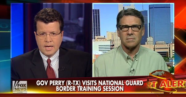 Rick Perry: Border crisis isn't just a Texas issue