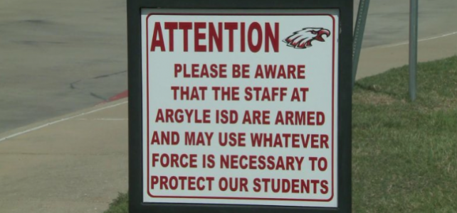 "School District Will Use ""Deadly Force"" to Protect Students"