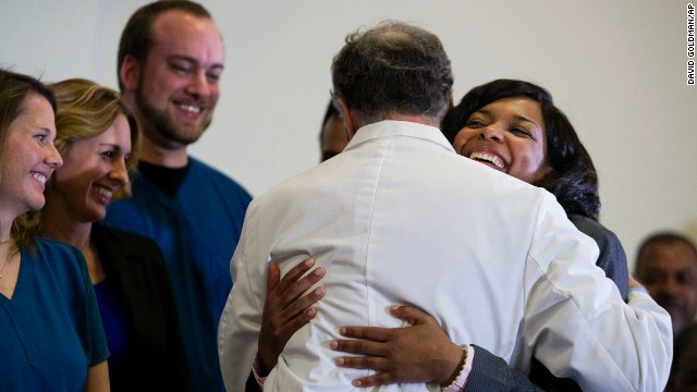 Nurse's discharge leaves one with Ebola in U.S. : Amber Vinson diagnosed with virus about 2 weeks ago