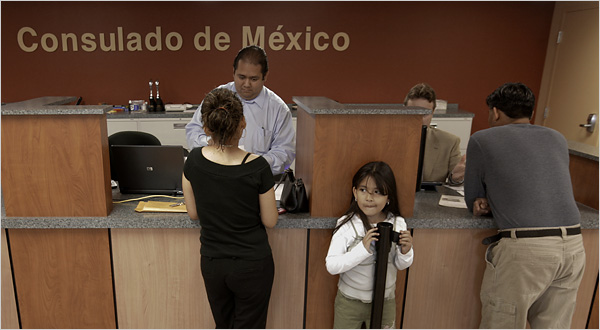 Mexican consulate warns of scams as executive order plays out