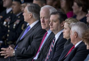 Cruz and Cornyn Clash on Senate Floor