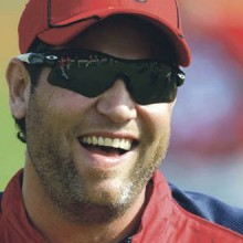Lance Berkman is a spokesman against an LGBT rights law in Houston