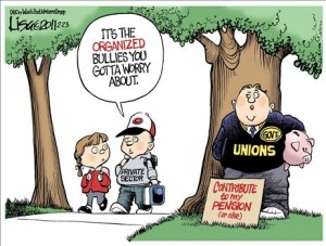 Public-Sector Union Abuse