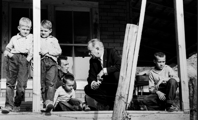 Who's poor in America? 50 years into the 'War on Poverty,' a data portrait
