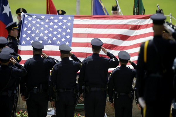 Proposed Texas law would make targeting police officers a hate crime