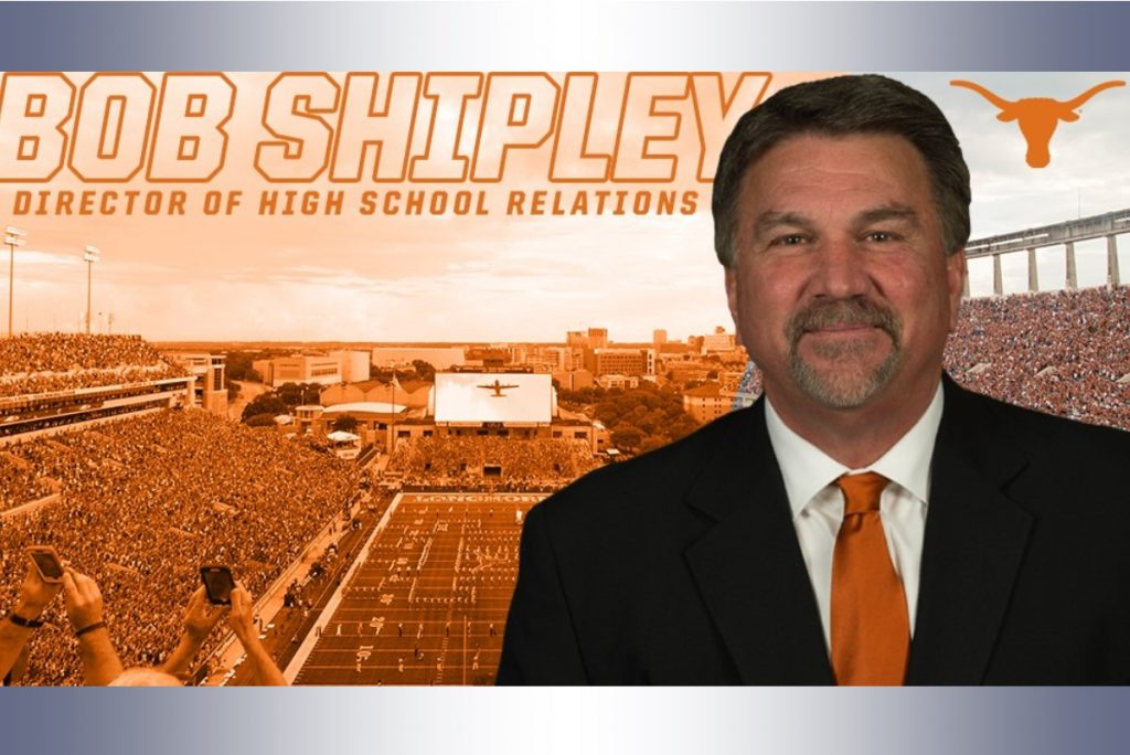 RERsports -- Shipley named Director of High School Relations for Horns