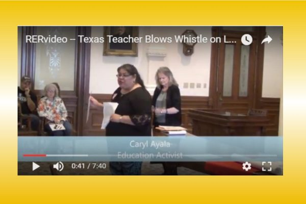 RERvideo – BRAVE TEXAS TEACHER BLOWS WHISTLE ON LGBTQ PRE-K INFILTRATION (VIDEO)