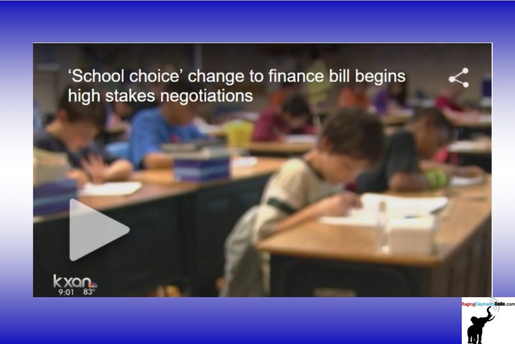 'School choice' change to finance bill begins high stakes negotiations (VIDEO)