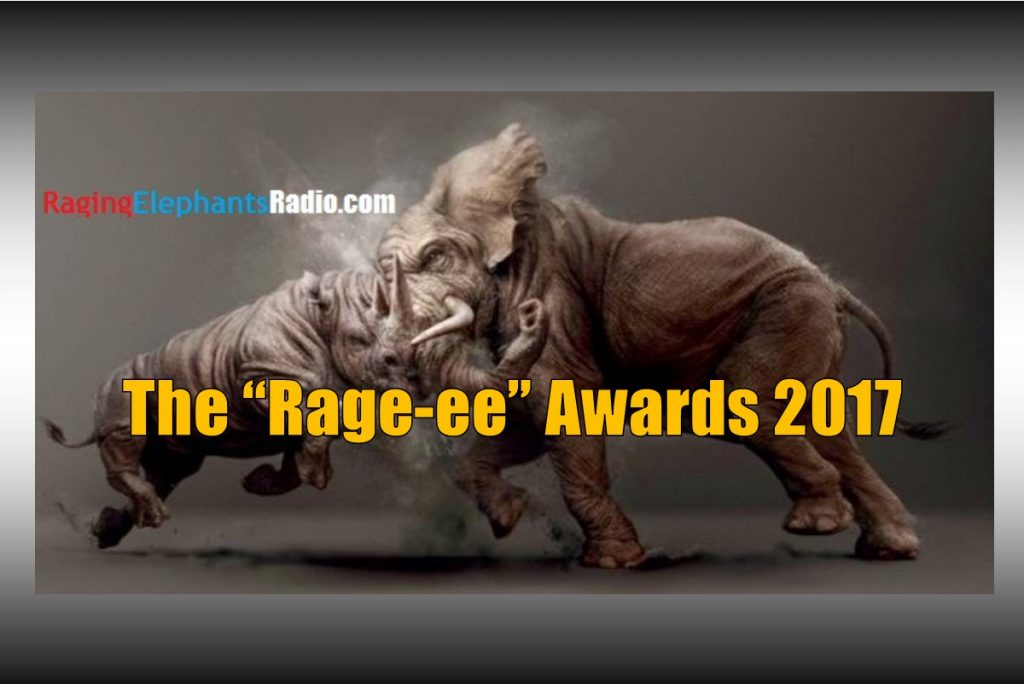 RERfirst – SPECIAL REPORT: THE 2017 RAGE-EE AWARDS (AUDIO)