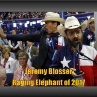 "RERfirst – CONGRATULATIONS JEREMY BLOSSER, THE ""RAGING ELEPHANT"" OF 2017"