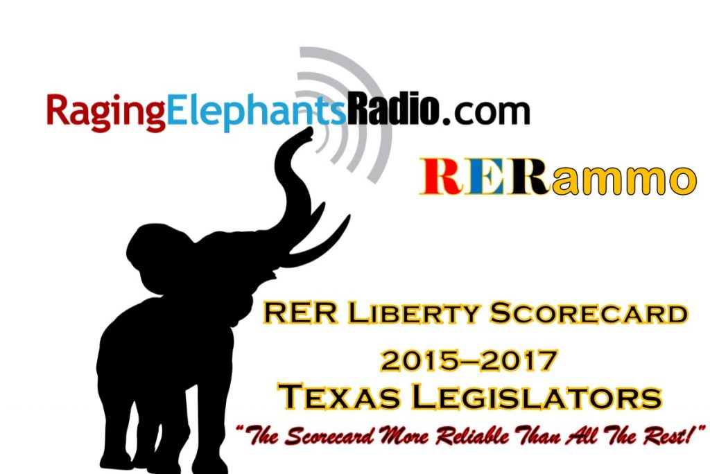 RERfirst -- SPECIAL REPORT: RER LIBERTY SCORECARD RELEASED IN TIME FOR PRIMARY
