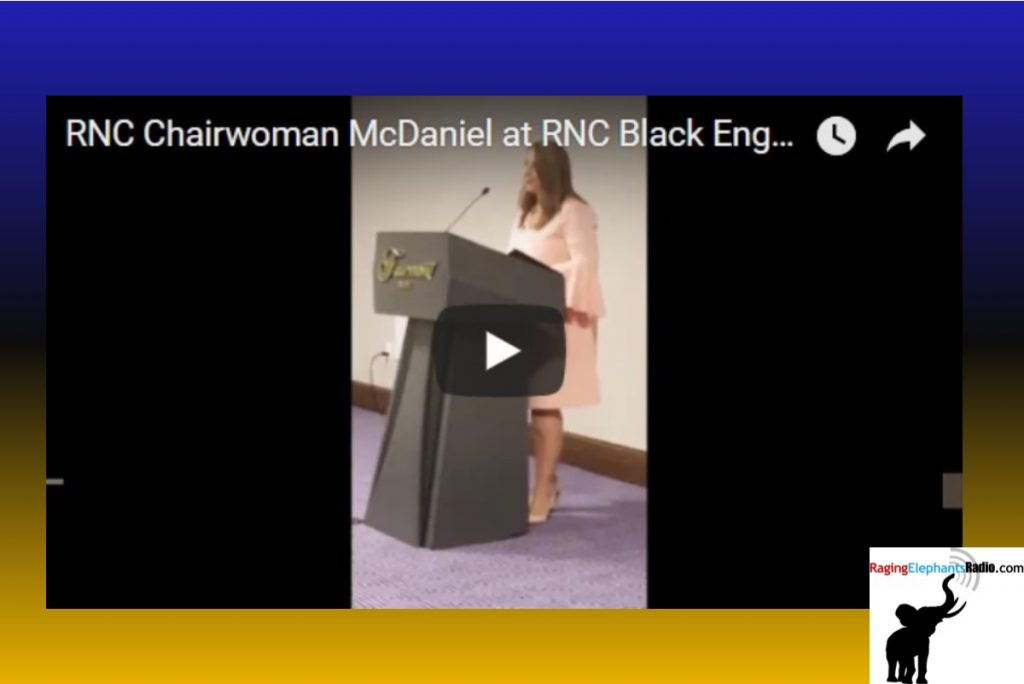 RERvideo – RNC CHAIR ROMNEY McDANIEL FAILS TO IMPRESS AT BLACK ENGAGEMENT EVENT (VIDEO)