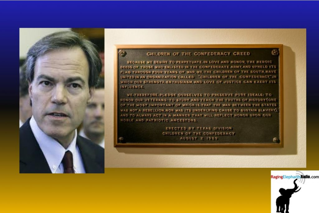 Joe Straus: Let's remove a plaque in the Texas Capitol that lies about Confederate history