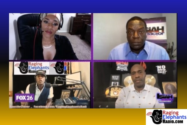 RERhotclip -- APOSTLE CLAVER SMACKS DOWN RAPPER OVER N-WORD USE (VIDEO)