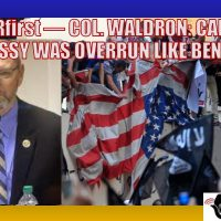 RERfirst — COL. WALDRON: CAIRO EMBASSY ATTACK WAS AS BAD AS BENGHAZI (AUDIO)