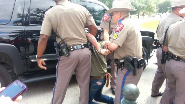 2 arrested at Texas Capitol gun-rights rally