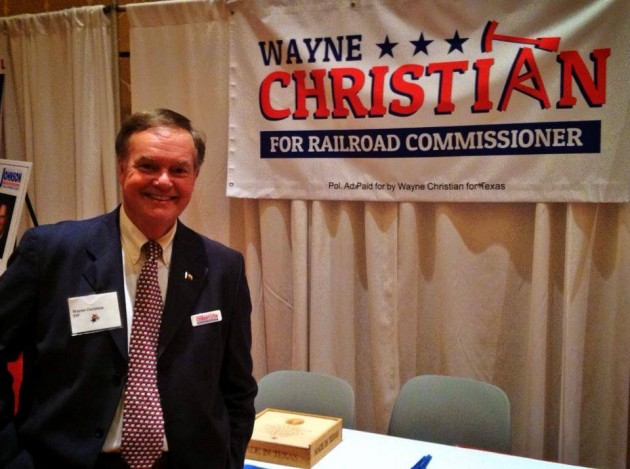 """Wayne Christian Says Railroad Commissioner Race Could Be A """"Backdoor"""" To Shut Down Oil & Gas Industries In Texas [AUDIO]"""