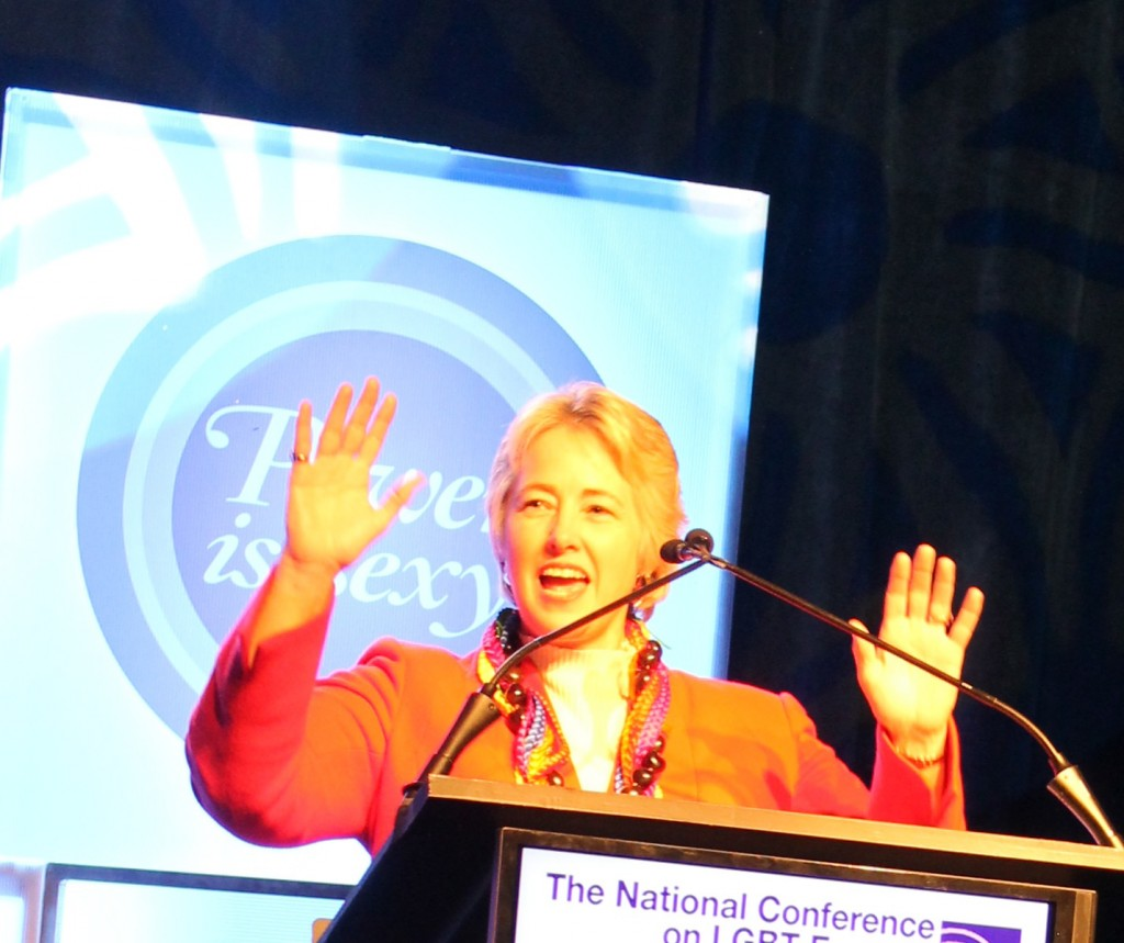 Annise Parker touches on importance of elections, unity at Creating Change