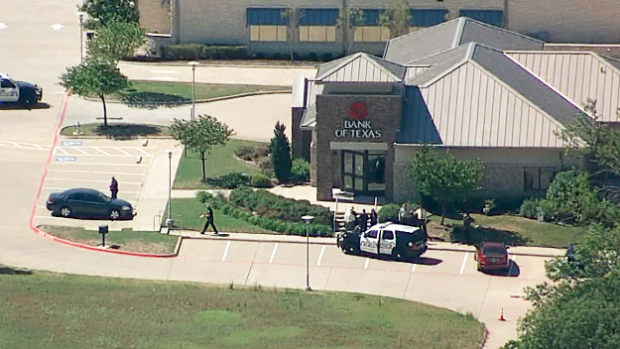 Allen Police Searching For Suspects After Morning Bank Robbery