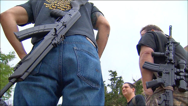 'Open carry' supporters vow legal action after Arlington rebuke
