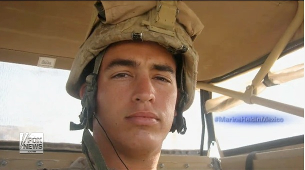 Marine jailed in Mexico receives order to report to USMC superiors