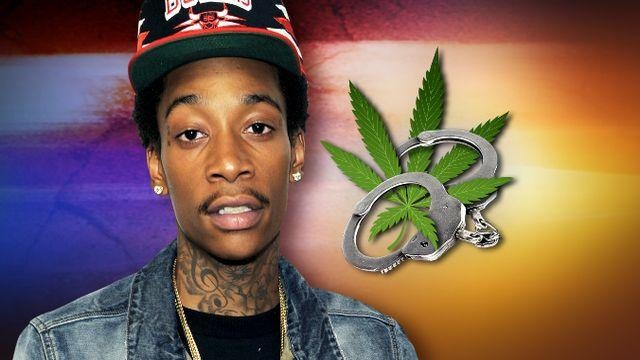 Rapper Wiz Khalifa arrested on pot charge in Texas