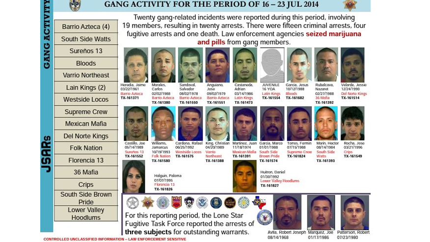 EXCLUSIVE: Report reveals 'disturbing trend' of brazen attacks against border security by gangs, drug and human traffickers