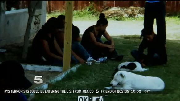 """Police chase leads to """"stash house"""" harboring illegal aliens"""