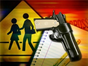 Weapons at school more likely than adults think