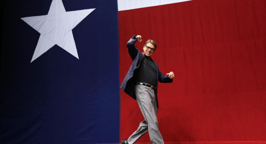 Rick Perry ramps up