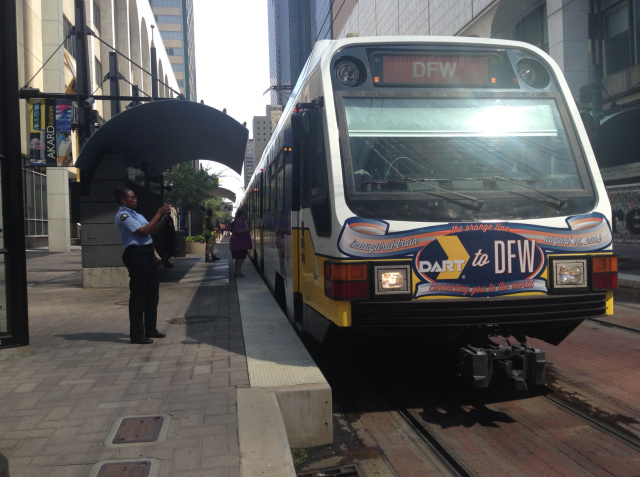 Woman stabbed in face at DART train station near Dallas' Arts District