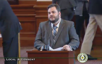 Rep. Jonathan Stickland says he might have proof that he was set up
