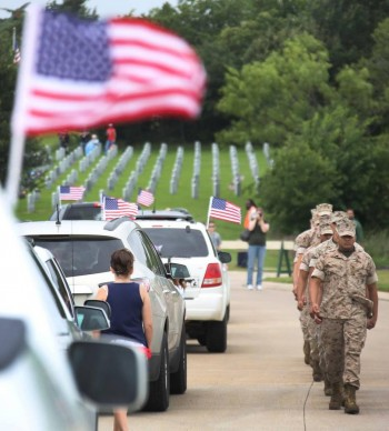 Families gather in Dallas to remember loved ones who served, and many who never returned