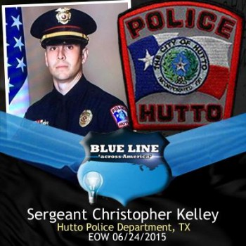 Hutto Police Sgt. Chris Kelley dies after being run over by car