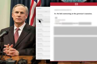Abbott Withholding Records With Paxton's Blessing