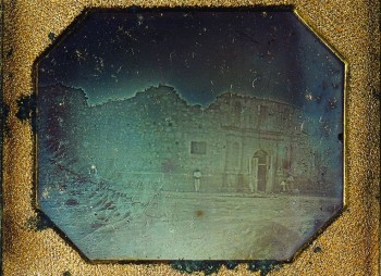 This photo of the Alamo is the oldest known image of Texas