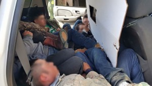 Illegal Aliens Busted in Cloned Border Patrol Vehicle