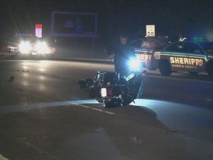 Motorcycle rider killed in accident along Highway 249