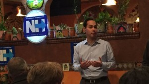 Julian Castro stumps for Clinton in New Hampshire as VP rumors heat up