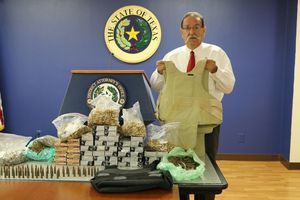 DA: Tip leads to 4000 rounds of ammo, cartel smuggling station
