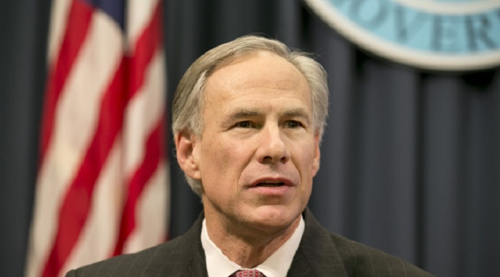 Texas Gov. Greg Abbott talks about President Obama's immigration executive order at a news conference at the Capitol in Austin, Texas, on Wednesday, Feb. 18, 2015. (AP Photo/Austin American-Statesman, Jay Janner) AUSTIN CHRONICLE OUT; COMMUNITY IMPACT OUT; INTERNET AND TV MUST CREDIT PHOTOGRAPHER AND STATESMAN.COM; MAGAZINES OUT