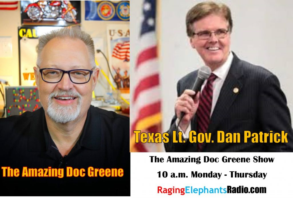 RERhotclip – THE AMAZING DOC GREENE INTERVIEW WITH LT. GOV. DAN PATRICK (AUDIO)