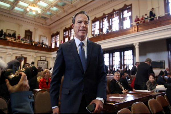 Why House Speaker Joe Straus Just Compared The Senate Finance Committee To Enron