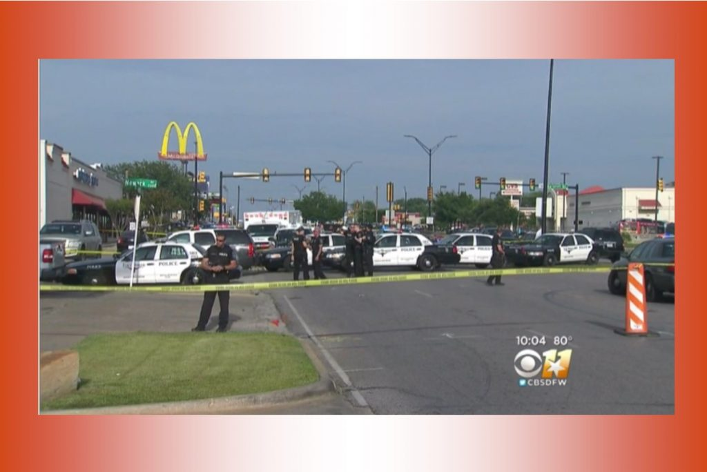 Man Pointing Rifle At Officers Fatally Shot By Police