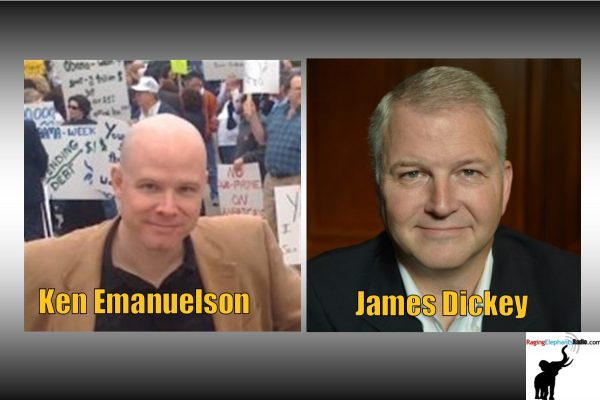 """RERhotclip – EMANUELSON: """"JAMES DICKEY CO-FOUNDED DALLAS TEA PARTY WITH ME"""". (AUDIO)"""