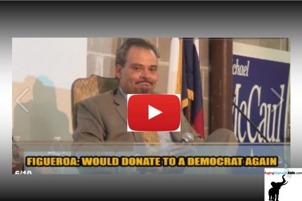 """RERvideo – FIGUEROA: """"VERY PROUD"""" TO GIVE TO PLANNED PARENTHOOD DEMOCRATS (VIDEO)"""